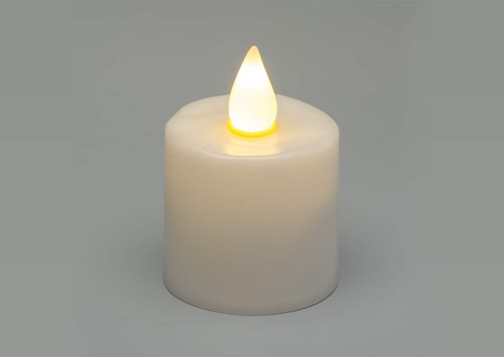 Gen 3 Warm White Flame Rechargeable Candle SC1109WW