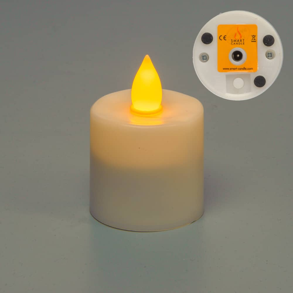Gen 3 Amber Flame Rechargeable candle SC2109A